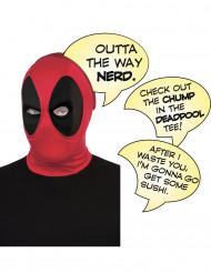 Carapuço luxo Deadpool™ adulto com balões de texto