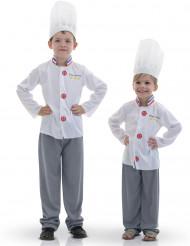 Disfarce Mestre da culinária criança
