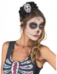 Bandolete Caveira colorida Dia de los Muertos adulto