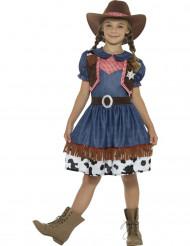 Disfarce cowgirl menina