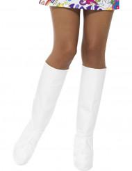 Cobre-botas brancos mulher