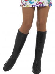 Cobre-botas pretos mulher