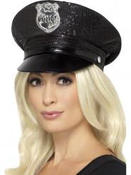 Boné polícia mulher