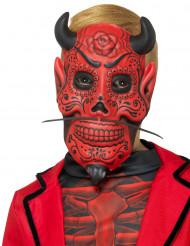 Máscara gentleman demoníaco criança Dia dos Mortos
