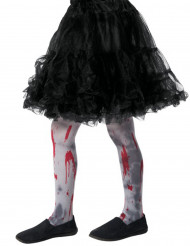 Collants sangrentos zombie criança Halloween