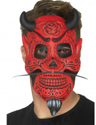 Máscara demónio adulto Dia de los muertos