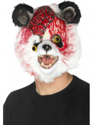 Máscara panda zombie adulto Halloween
