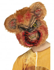 Máscara urso zombie adulto Halloween