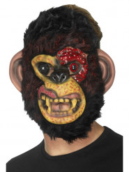 Máscara macaco zombie adulto Halloween