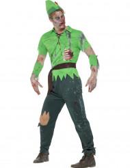Disfarce homem dos bosques adulto Halloween