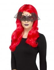 Mascarilha morcego mulher Halloween
