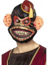 Máscara macaco zombie adulto para Halloween