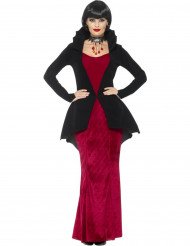 Disfarce vampira real mulher Halloween