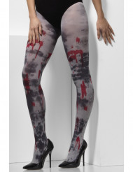 Collants sangrentos zombie Halloween