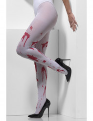 Collants sangrentos adulto Halloween