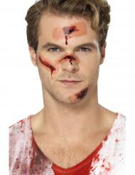 Tatuagens temporárias cicatrizes com penso adulto Halloween