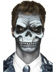 Prótese em mousse látex cara de morto adulto Halloween