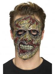 Prótese em mousse látex zombie adulto Halloween