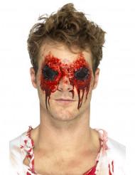 Prótese látex olhos arrancados adulto Halloween
