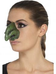 Prótese em mousse látex nariz de bruxa adulto Halloween
