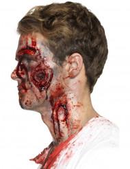 Prótese látex feridas sangrentas adulto Halloween