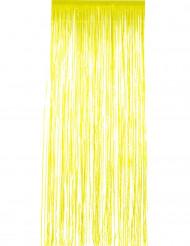 Cortina cintilante amarela