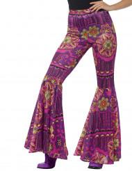 Calças hippie mulher