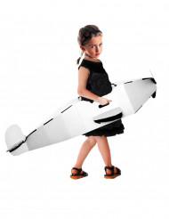 Avião personalizável de cartão reciclado criança