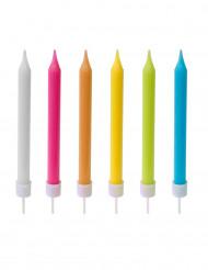 10 Velas coloridas