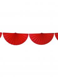Grinalda leque vermelho