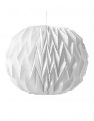 Bola origami branca