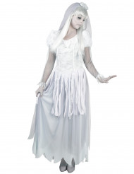 Disfarce noiva fantasma mulher