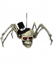 Decoração esqueleto de aranha Halloween
