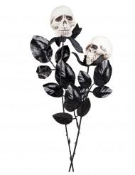 Rosa caveira 45 cm Halloween