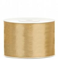 Fita acetinada dourada 5 cm x 25 cm