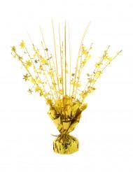 Peso para balão hélio estrelas douradas 250 gr