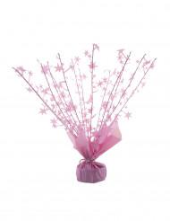 Peso para balão de hélio estrelas cor-de-rosa 250 gr