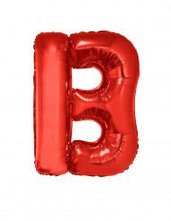 Balão alumínio letra B vermelho