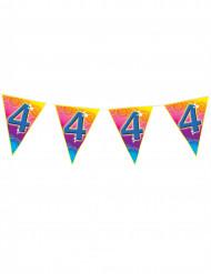 Grinalda bandeirolas 4 anos