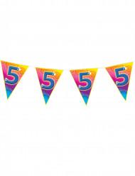 Grinalda bandeirolas 5 anos
