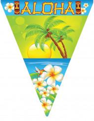Grinalda de plástico Aloha 5 m