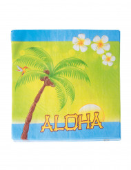 20 Guardanapos de papel Aloha