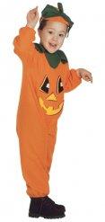 Disfarce abóbora para criança Halloween