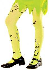 Collants amarelos menina