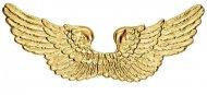 Asas anjo douradas 88 x 25 cm