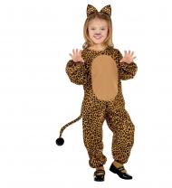 Disfarce leopardo criança