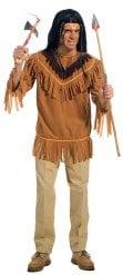 Camisola índia com franjas homem