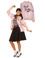 Casaco rock cor-de-rosa mulher