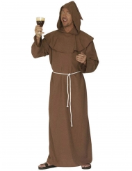 Disfarce monge castanho homem