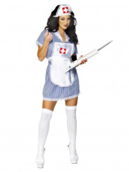 Disfarce enfermeira sexy mulher